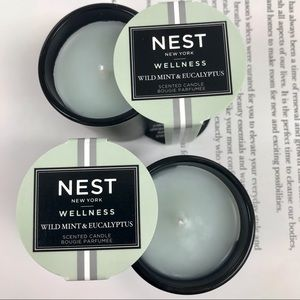 2* NEST Scented Candle Bougie Parfume
